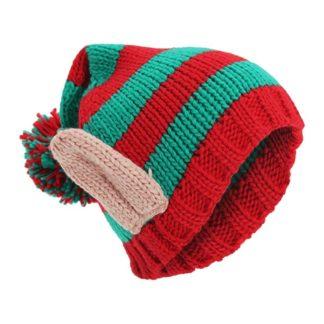 1e6fb26100727 Oreilles de lutin de noël – Bonnet enfant déguisement – Rouge