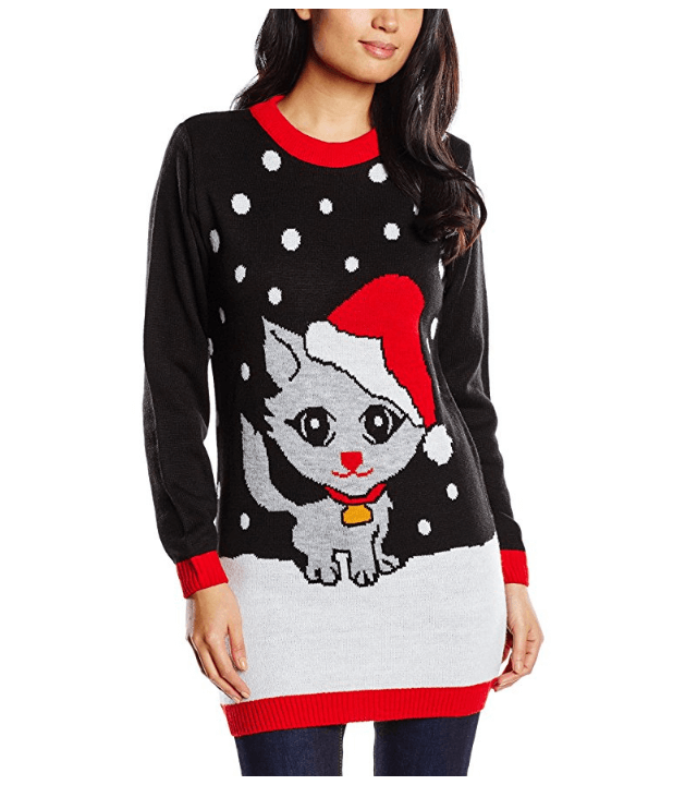 petit chat de neige flocons de neige noir et rouge. Black Bedroom Furniture Sets. Home Design Ideas