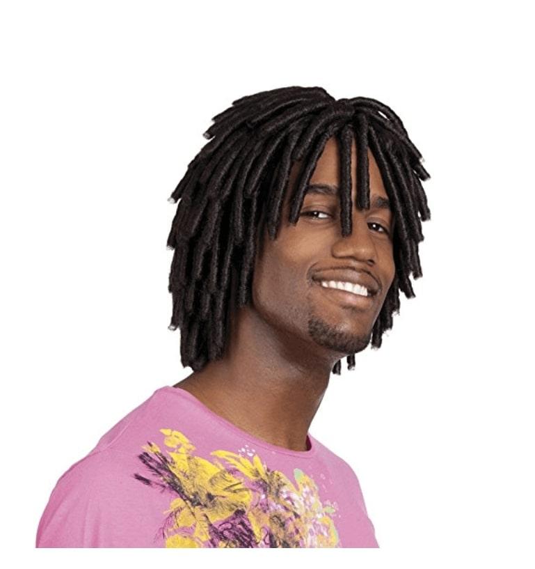 Levi - Perruque Afro Dreads Courtes - Perruque