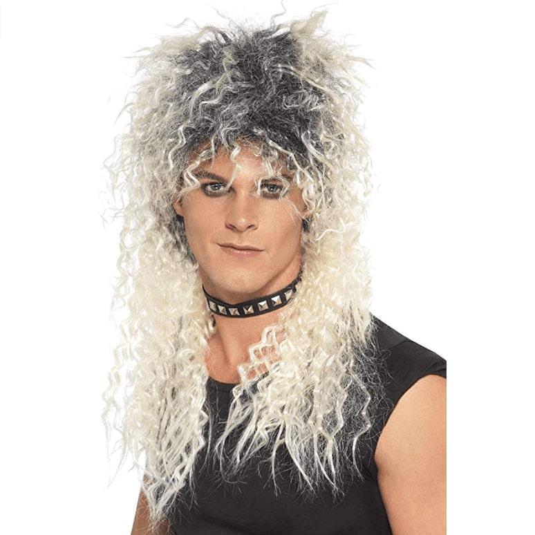 Jerry - Perruque Rock pour Homme - Cheveux