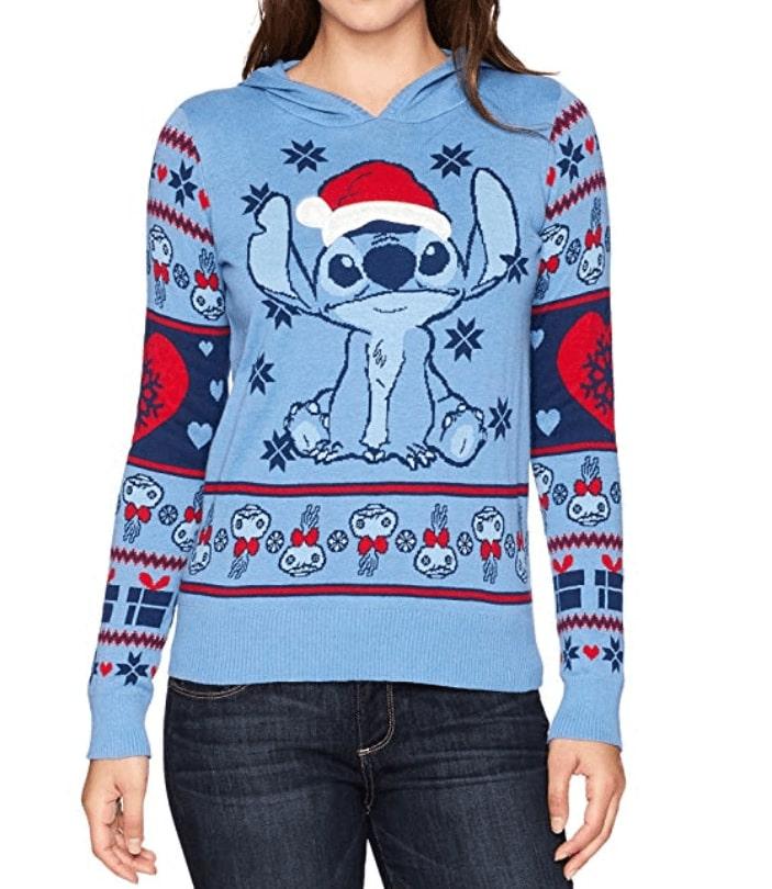 style à la mode énorme réduction la réputation d'abord Stitch - Pull Noël Disney Femme - Ugly Christmas Sweater