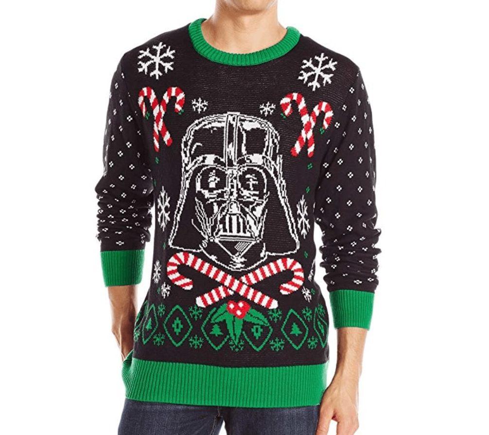 Dark Vador Et Sucrerie Star Wars Ugly Christmas Sweater